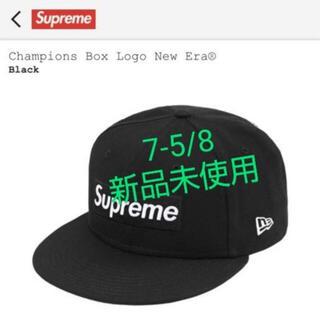 シュプリーム(Supreme)のシュプリーム Champions Box Logo New Era 7 5/8(キャップ)