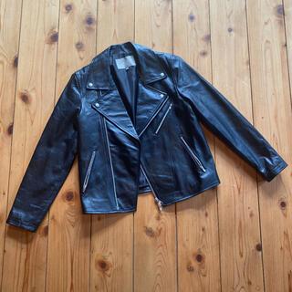 ユナイテッドアローズ(UNITED ARROWS)のユナイテッドアローズ ライダースジャケット 38 ブラック(ライダースジャケット)