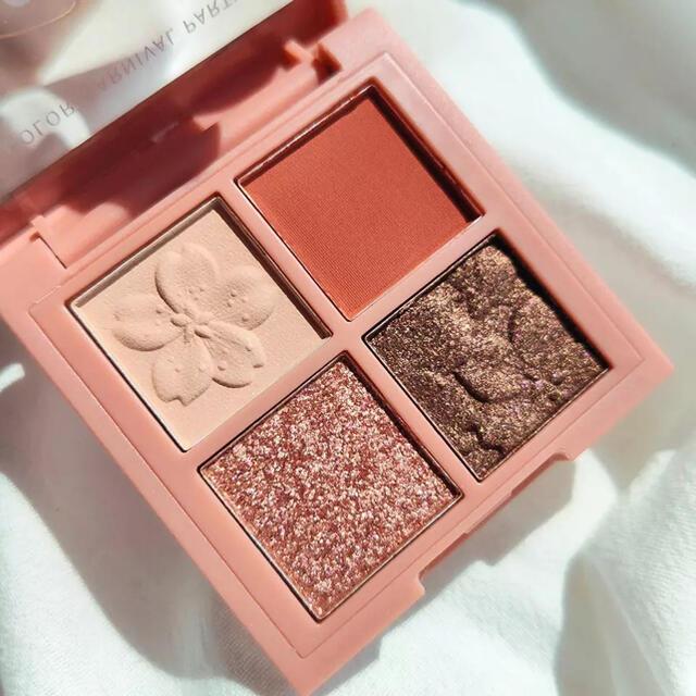 オレンジブラウン アイシャドウ ■ 新品 送料込み コスメ/美容のベースメイク/化粧品(アイシャドウ)の商品写真