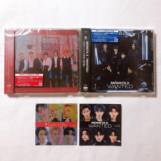 MONSTA X Love Killa + WANTED 2枚セット