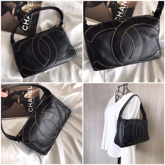 CHANEL(シャネル)のマイメロ様専用♡シャネル CHANEL  デカココ ショルダーバッグ  レディースのバッグ(ショルダーバッグ)の商品写真