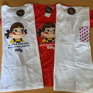 UNIQLO - ペコちゃんTシャツLサイズ3点セット