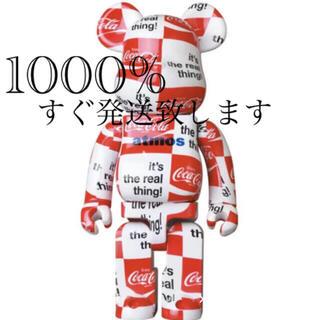 メディコムトイ(MEDICOM TOY)のBE@RBRICK atmos × Coca-Cola CHECKERBOARD(その他)