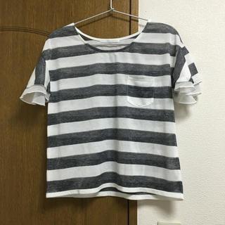 RETRO GIRL ボーダーTシャツ