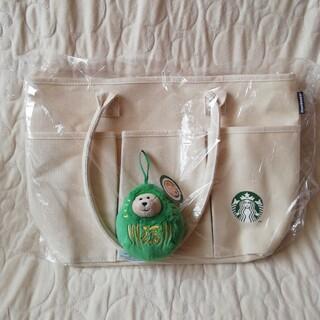スターバックスコーヒー(Starbucks Coffee)のSTARBUCKS スタバ福袋2021 トートバッグ&ベアリスタセット(トートバッグ)