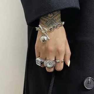 TODAYFUL - #845 import  : ballcatch chain bracelet