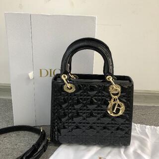 クリスチャンディオール(Christian Dior)の超美品! Lady Dior ハンドバッグ(ショルダーバッグ)
