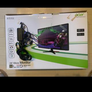 エイサー(Acer)のacer モニター(PC周辺機器)