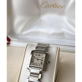 Cartier -   Cartier カルティエ タンクフランセーズSM  レディース腕時計