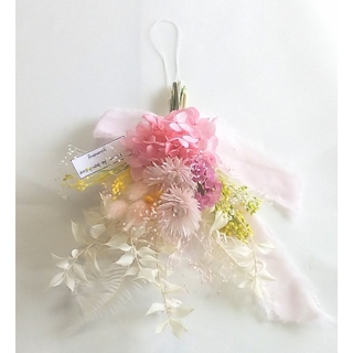 spring ajisai mini swag(fancy color)(ドライフラワー)