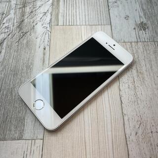アイフォーン(iPhone)のiPhoneSE Silver 16 GB SIMフリー 第一世代(スマートフォン本体)