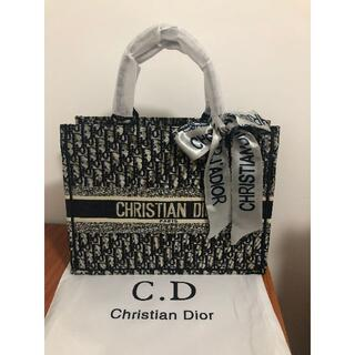 クリスチャンディオール(Christian Dior)のChristian Dior クリスチャン ディオール トートバッグ ブラック(その他)