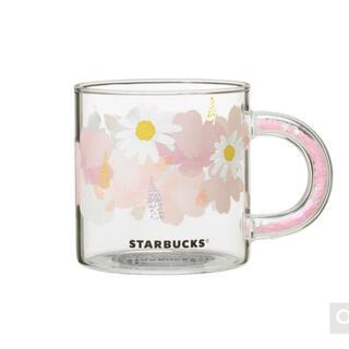 Starbucks Coffee - 新品未使用 スターバックス グラスマグ サクラ