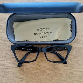 レイバン(Ray-Ban)の金子眼鏡 VISION OF DIVISION 眼鏡 日本 黒縁(サングラス/メガネ)