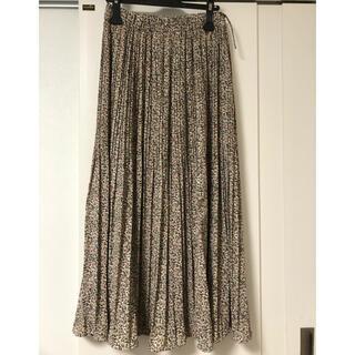 メルローズクレール(MELROSE claire)のMELROSE CRAIRE プリーツロングスカート(ロングスカート)