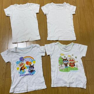 コンビミニ(Combi mini)のコンビミニ アンパンマン 半袖肌着 90 4枚セット(下着)