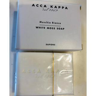 アッカ(acca)の【送料込】ACCA KAPPAのWHITE MOSS SOAP(ボディソープ/石鹸)