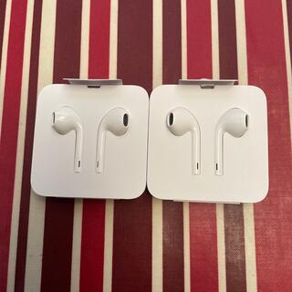 Apple イヤフォン 純正品 2個セット