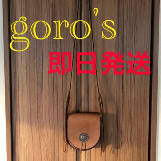 goro's - goro's ゴローズ サドルレザー バケット フラワーコンチョ シュプリーム