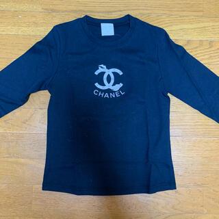 シャネル(CHANEL)のシャネル ロンT ネイビー(Tシャツ(長袖/七分))