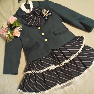 入学式 120 フォーマルスーツ(ドレス/フォーマル)