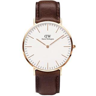 ダニエルウェリントン(Daniel Wellington)の新品 Daniel Wellington 40mm 腕時計 DW00100009(腕時計(アナログ))