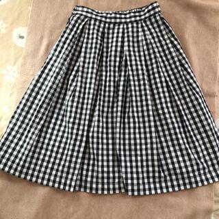 オールオーディナリーズ(ALL ORDINARIES)のギンガムチェック ふんわりスカート(ひざ丈スカート)