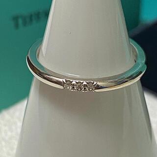 Tiffany & Co. - 美品tiffanyクラシックバンドリングpt950 8号