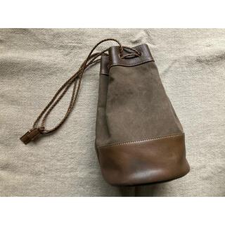 ツチヤカバンセイゾウジョ(土屋鞄製造所)の土屋鞄製作所のレザーキャンバス(ショルダーバッグ)