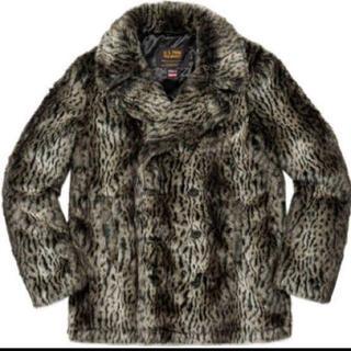 シュプリーム(Supreme)のSupreme Schott Fur Jacket Leopard(ピーコート)