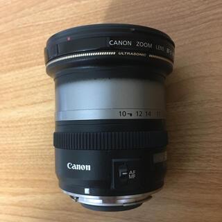 キヤノン(Canon)の超美品 Canon EF-S 10-22mm    ズームリング欠品です(レンズ(ズーム))