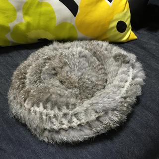 ケービーエフ(KBF)のKBF ファーベレー帽(ハンチング/ベレー帽)