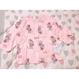 シマムラ(しまむら)のミニーパジャマ 腹巻き付き 80サイズ(パジャマ)