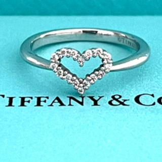 Tiffany & Co. - 新品・未使用 ティファニー Tiffany   ハート リング プラチナ