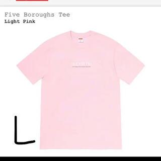 シュプリーム(Supreme)のSupreme 21ss five boroughs tee L ステッカー付(Tシャツ/カットソー(半袖/袖なし))