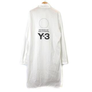 ワイスリー(Y-3)のワイスリー Y-3 LOGO LONG SHIRT ロングシャツ バッグロゴ 長(シャツ)