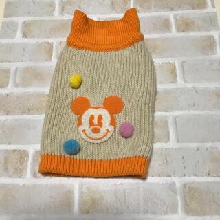ディズニー(Disney)の犬服 セーター ミッキーマウス(ペット服/アクセサリー)