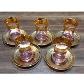 トルコ製 チャイグラス(グラス/カップ)