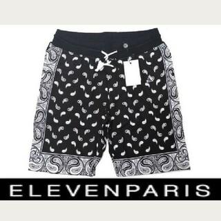 イレブンパリ(ELEVEN PARIS)の新品2.8万 イレブンパリ ELEVEN PARIS スウェットコットンパンツ(ショートパンツ)