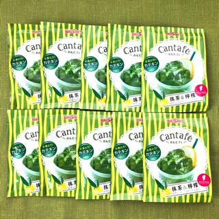 ブルックス(Brooks)の【格安】ブルックス 抹茶 檸檬 Cantafe 10袋 かんたフェ レモン(茶)