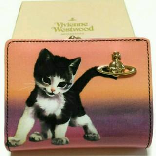 ヴィヴィアンウエストウッド(Vivienne Westwood)の出品8/19まで★美品 Vivienne westwood キトゥン がま口財布(財布)