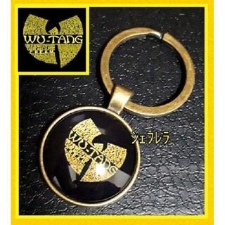 レアデザイン☆ Wu-Tang Clan ウータン クラン ロゴ キーホルダー(キーホルダー)