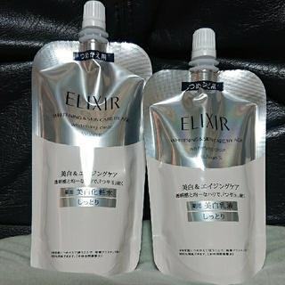 エリクシール(ELIXIR)のエリクシール ホワイト 化粧水 乳液 TⅡ つめかえ(化粧水/ローション)