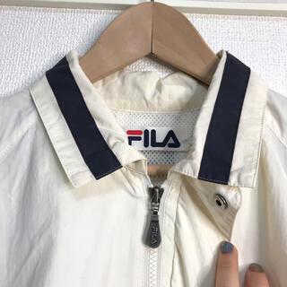 FILA - 古着ナイロンジャケット FILA