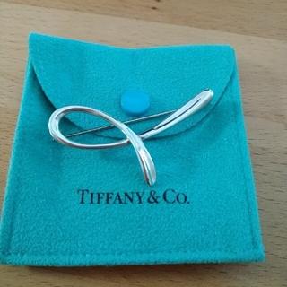 ティファニー(Tiffany & Co.)のティファニー イニシャルブローチ(ブローチ/コサージュ)