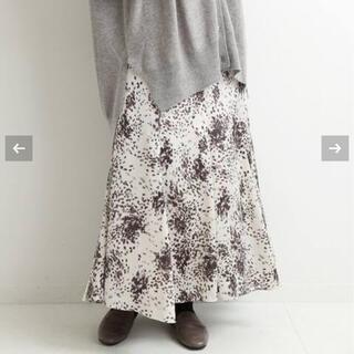 イエナ(IENA)の今季 イエナ 楊柳プリントマーメイドスカート 38(ロングスカート)
