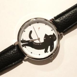 ツモリチサト(TSUMORI CHISATO)の✤ツモリチサト✤キラネコ腕時計(クックパッドプラス冬号付録)(腕時計)