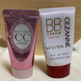 セザンヌケショウヒン(CEZANNE(セザンヌ化粧品))の B Bクリームファンデーション セット(BBクリーム)