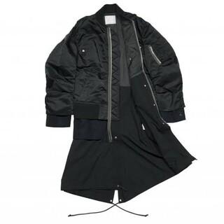 サカイ(sacai)のsacai nylon twill coat  20aw(ナイロンジャケット)