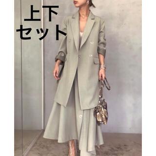 アメリヴィンテージ(Ameri VINTAGE)の【 AMERI 】定価3万7000円 ジャケットandスカート(テーラードジャケット)